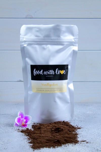 Premium Vanillepulver by «food with love» im Aromabeutel