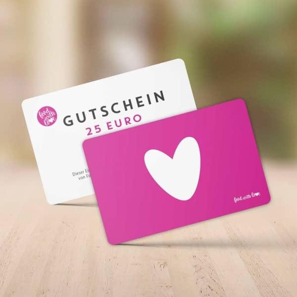 Food with Love Geschenkgutschein 25 €