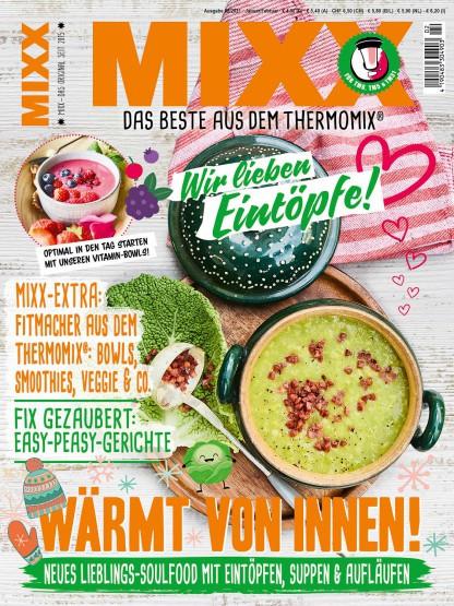 Zeitschrift MIXX - Ausgabe 02/2021 (Januar/Februar)