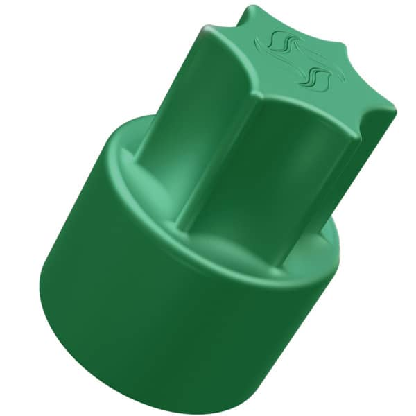 TeigTwister® für TM6/TM5/TM31 | Teiglöser aus Kunststoff - grün
