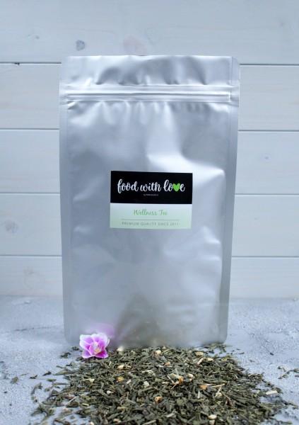 BIO Wellness-Tee by «food with love» im wiederverschließbaren Aromabeutel