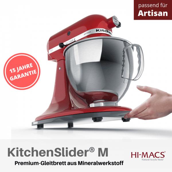 KitchenSlider® M | Midnight Grey | Gleitbrett für KitchenAid