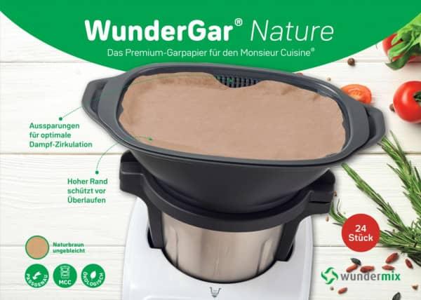 WunderGar® | Dampfgarpapier für Monsieur Cuisine