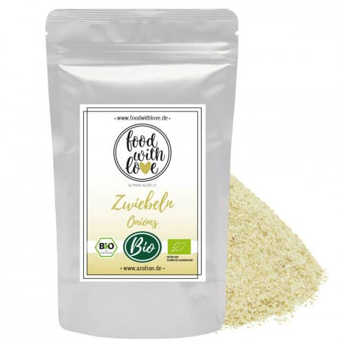BIO-Zwiebel granulat (250g) by «food with love»