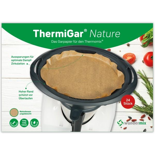 ThermiGar® Nature - Dampfgarpapier für Thermomix Varoma-Einlegeboden
