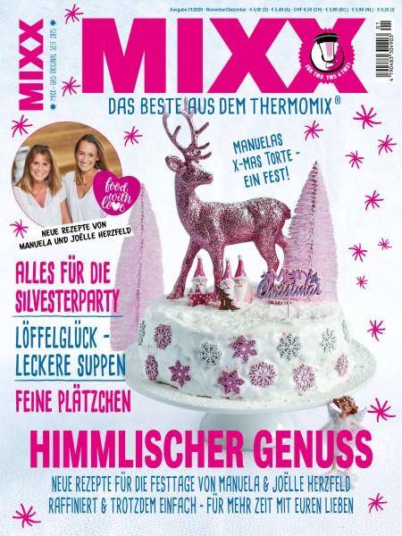 Zeitschrift MIXX - Ausgabe 01/2020 (November/Dezember)