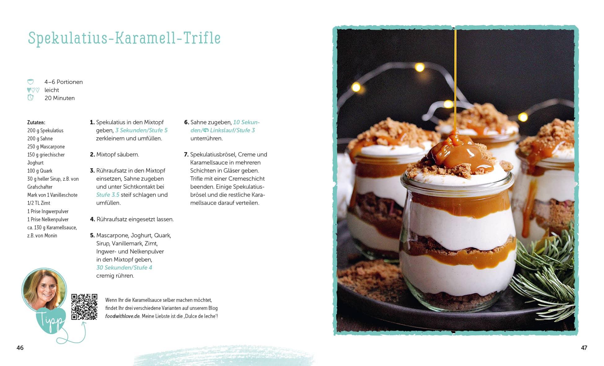 Sommerküche Thermomix : Food with love 33 himmlische desserts: rezepte mit dem thermomix