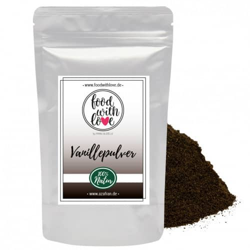 Natur-Vanillepulver (25g) by «food with love»