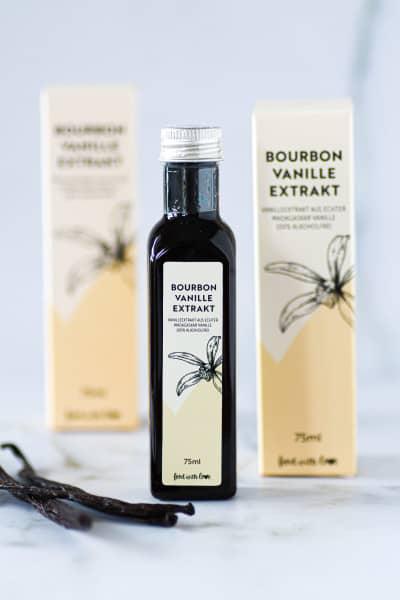 Bourbon Vanille Extrakt «food with love» | alkoholfrei | 75 ml