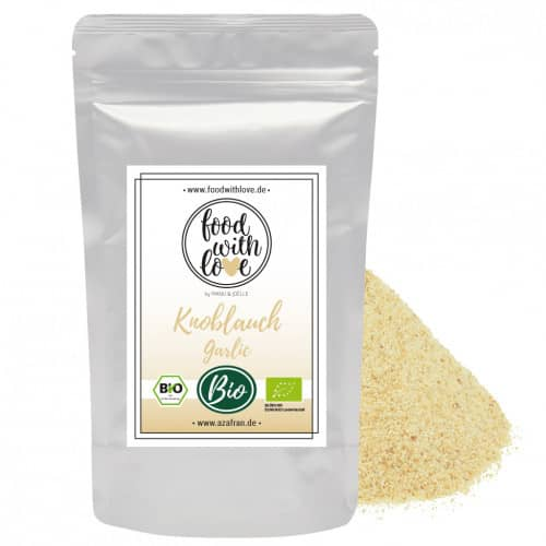BIO-Knoblauch granulat (250g) by «food with love»