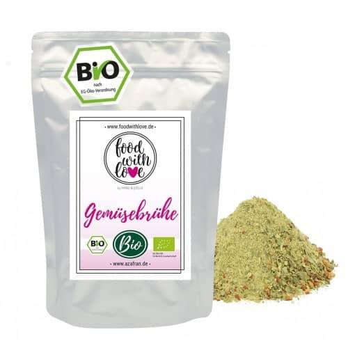 BIO-Gemüsebrühe (500g) by «food with love»